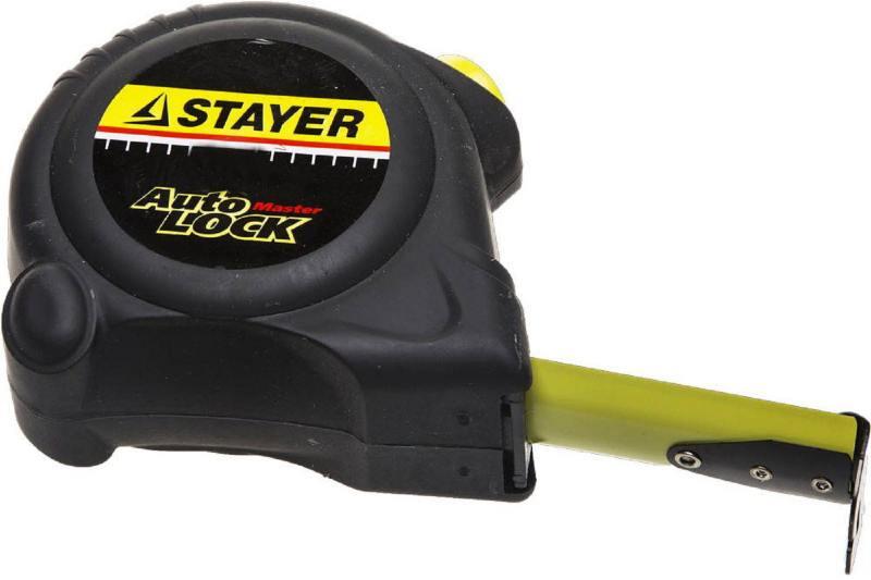 Рулетка Stayer Master Autolock 5мх25мм 2-34126-05-25_z01 цена