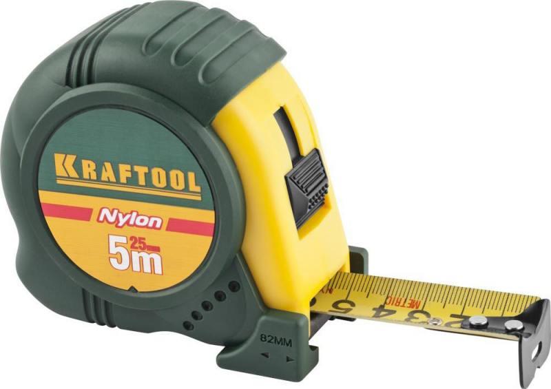 Рулетка Kraftool Expert 5мx25мм 34122-05-25_z01 рулетка kraftool pro 34127 05 27