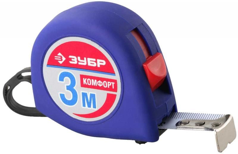 Рулетка Зубр Комфорт 3мх16мм 34016-3 цены