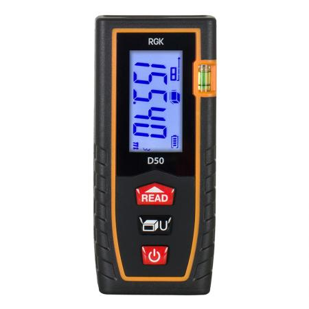 Дальномер RGK D50 ±2мм 50м дисплей IP54 2хААА 1.5В