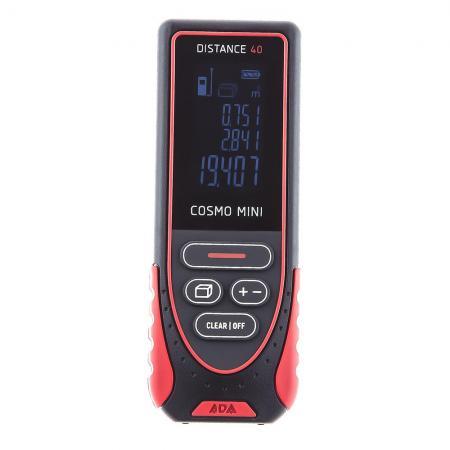 Дальномер ADA Cosmo Mini 40 Лазерный 40м Точность ±2мм 635нм дальномер ada cosmo 40