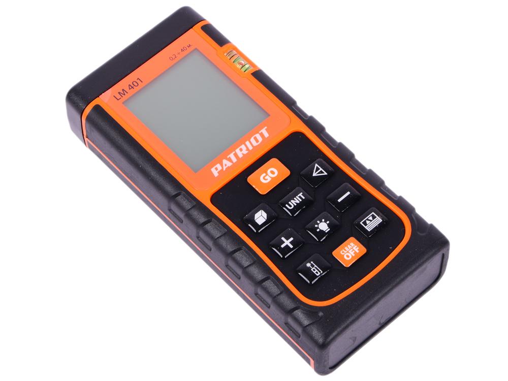 Дальномер лазерный PATRIOT LM 401 лазерный дальномер oem 50 rz50 sw e50