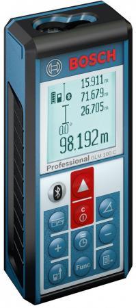 Дальномер лазерный BOSCH GLM 100 C Professional (0.601.072.700) 0.05-100м±1.5мм класс лазера2 ±0.2° дальномер лазерный bosch glm 50 0 601 072 200