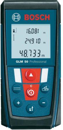 Дальномер Bosch GLM 50 50 м 601072200 дальномер bosch plr 50 c 50 м 603672220