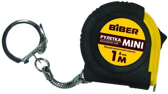 Рулетка Biber 40131 1мx6мм рулетка брелок biber 40131