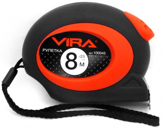 Рулетка Vira 100045 8мx25мм рулетка vira 100008