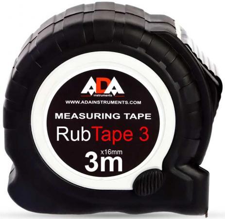 Рулетка Ada RubTape 3мx16мм А00155 ada quadrant