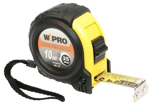 Рулетка WIPRO 06-10 10мx25мм ampeg portaflex pf 210he
