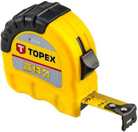 Рулетка TOPEX 27C310 10мx25мм рулетка topex 27c310 10мx25мм