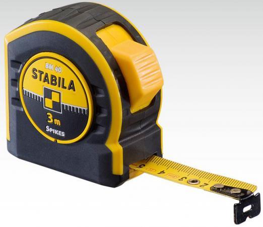 Рулетка Stabila BM 40 3мx16мм 17736 аксессуар stabila lb очки для усиления видимости лазерного луча 07470
