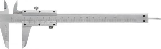 Штангенциркуль TOPEX 31C616 200мм topex 03a149