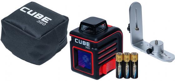 Уровень лазерный ADA Cube 360 Home Edition 20(70)м ±3/10мм/м ±4° лазер2 екатерина