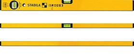 Уровень STABILA 02282 тип 70 400мм, 2 глазка, точность 0.5мм/м уровень пузырьковый stabila 02472 тип 70w 400мм 3 глазка