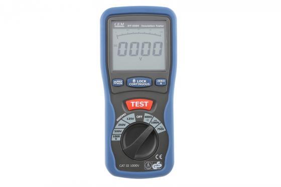 Тестер изоляции CEM DT-5505 цифровой индикатор cem dt 2g