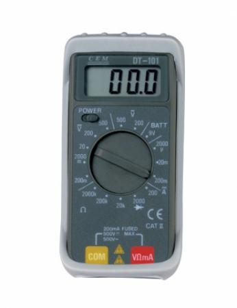 Мультиметр CEM DT-101 цифровой компактный мультиметр cem dt 101 цифровой компактный