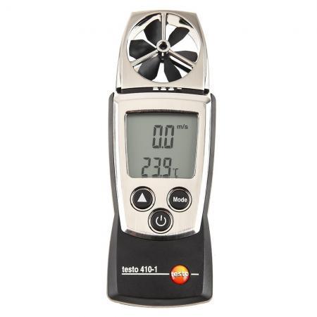 Анемометр с крыльчаткой TESTO 410-1 Функция HOLD от -10 до +50 °C ±0.5 °C анемометр testo 417 1 комплект