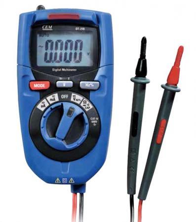 Мультиметр CEM DT-218 цифровой мультиметр cem dt 107