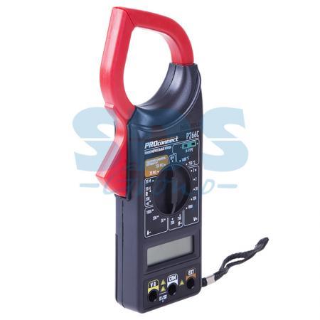 Токовые клещи P266C Proconnect 13-3052 токовые клещи uni t ut202a