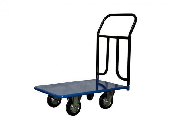 Тележка СТЕЛЛА КП-150 500х800 125-К платформенная 4 колеса цена