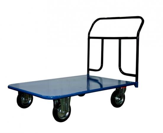 Тележка СТЕЛЛА КП-450 700х1250 160-K платформенная 4 колеса цена