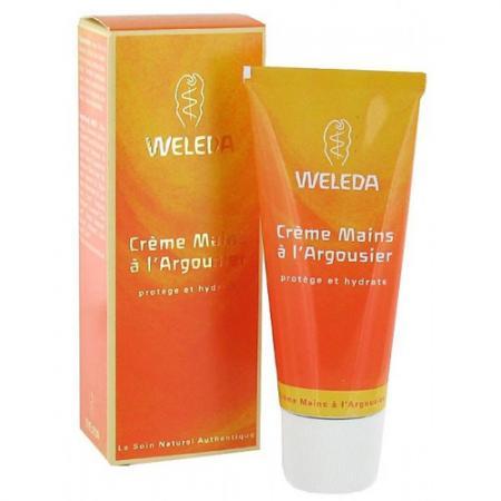 WELEDA Крем для рук с облепихой 50 мл the yeon canola honey silky hand cream крем для рук с экстрактом меда канола 50 мл