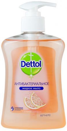 DETTOL Антибакт.жидк. мыло для рук с экстрактом Грейпфрута 250 мл dettol dettol санитарные салфетки hello kitty limited package version 8 10
