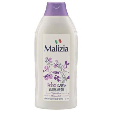 Malizia Гель-пена для душа Relax Touch 750 мл косметика для мамы malizia гель пена для душа nutri touch 750 мл