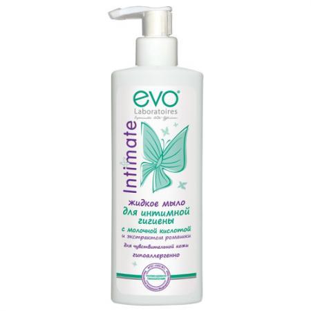 EVO Жидкое мыло для интимной гигиены  чувствительной кожи 200мл