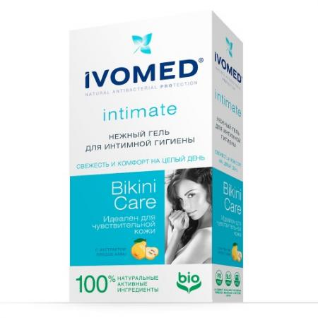 IVOMED Нежный гель д/интимной гигиены Bikini Care с экстрактом Айвы, 250 мл zk m200 m300 rfid card time attendance protect box waterproof safety protect cover housing