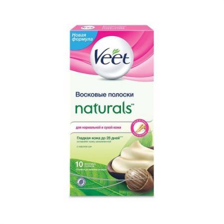 VEET Восковые полоски с маслом ши серии Naturals c технологией Easy Gel-wax 10шт wenger stonehide w16 04