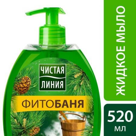ЧИСТАЯ ЛИНИЯ Мягкое мыло для лица  рук ФИТОбаня 0.52