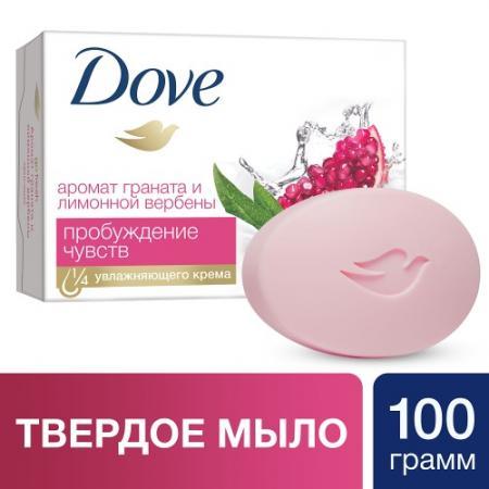 DOVE Крем-мыло Пробуждение чувств 100г dove жидкое крем мыло прикосновение свежести 250 мл