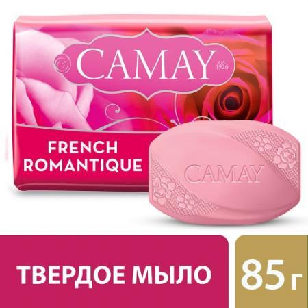 CAMAY Мыло туалетное Романтик 85г подарочный набор camay романтик