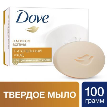 DOVE Крем-мыло с Драгоценными маслами 100г dove крем мыло прикосновение свежести 135 гр