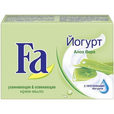 Fa Мыло Кусковое YOGHURT Алоэ Вера 90г