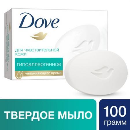 DOVE Крем-мыло Гипоаллергенное для чувствительной кожи 100г dove жидкое крем мыло прикосновение свежести 250 мл