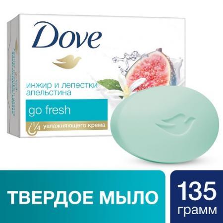 DOVE Крем-мыло Инжир и лепестки апельсина 135гр dove крем мыло прикосновение свежести 135 гр