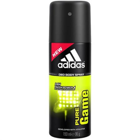 adidas Pure Game дезодорант-спрей для мужчин 150 мл дезодорант hlavin дезодорант спрей для обуви
