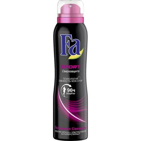 Fa Дезодорант-антиперспирант аэрозоль Sport Сверхзащита 150мл дезодорант fa fa fa033lwsis37