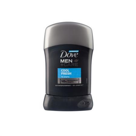DOVE Дезодорант антиперспирант карандаш мужской Прохладная свежесть 50мл долива дезодорант средиземноморская свежесть спрей 125мл