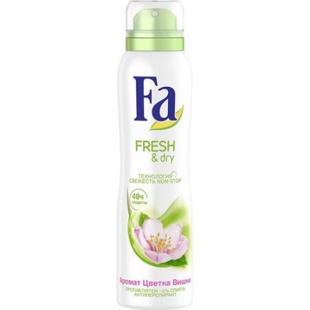 Fa Дезодорант-антиперспирант аэрозоль Fresh&Dry Цветок Вишни 150мл дезодорант fa fa fa033lwsis37