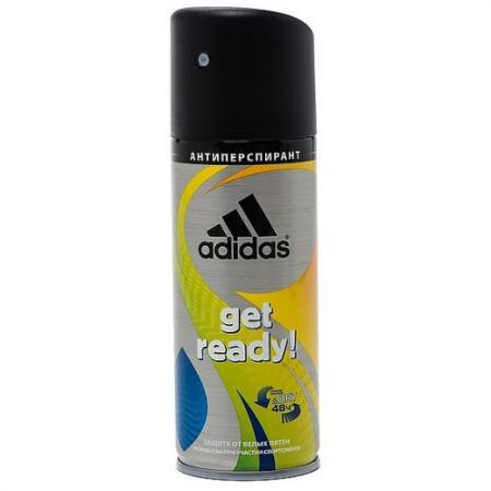 Adidas Get Ready! дезодорант-спрей для мужчин 150 мл система хранения el casa el casa mp002xu0duyn