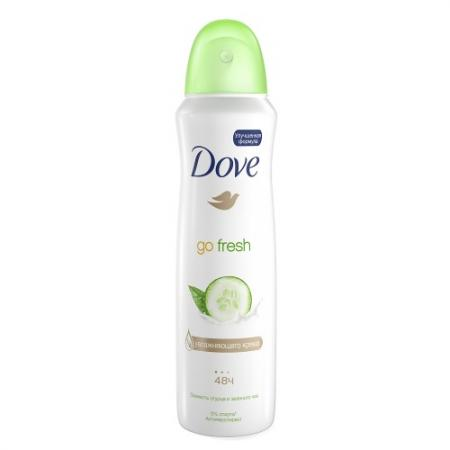 DOVE Дезодорант аэрозоль женский Прикосновение свежести 150мл dove подарочный набор men care энергия свежести