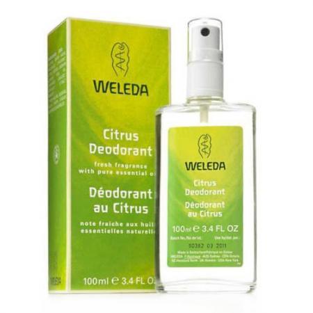 WELEDA Цитрусовый дезодорант 100 мл weleda цитрусовый освежающий 200 мл