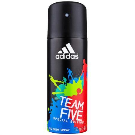 Adidas Team Five дезодорант-спрей для мужчин 150 мл дезодорант hlavin дезодорант спрей для обуви