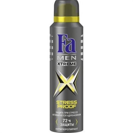 Fa MEN Дезодорант-антиперспирант аэрозоль Xtreme Activated 150мл fa дезодорант антиперспирант аэрозоль floral protect мак