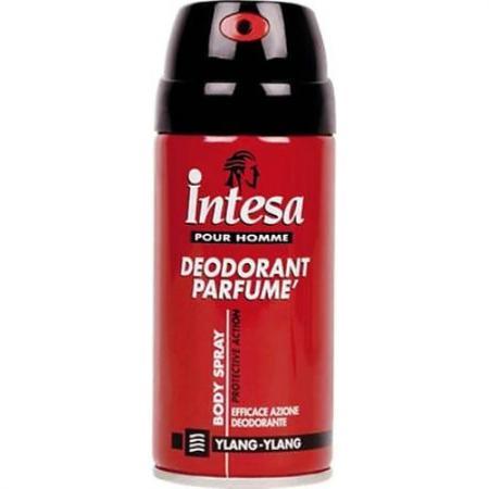 INTESA Дезодорант парфюмированный для тела Иланг Иланг 150 мл/12 шт