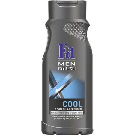 Fa MEN Гель для душа Xtreme Cool 250мл гели fa гель для душа men active спорт 250 мл
