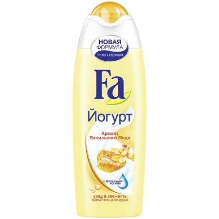 Fa Гель для душа YOGHURT Ванильный мед 250мл набор fa греческий йогурт гель д душа 250мл мыло 2шт х90г