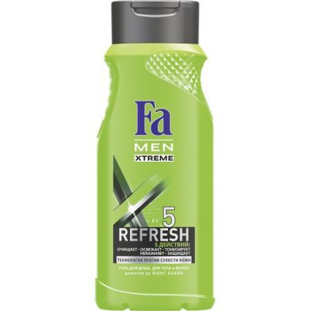 FA MEN Гель для душа Xtreme Refresh 5 250мл гели fa гель для душа men active спорт 250 мл